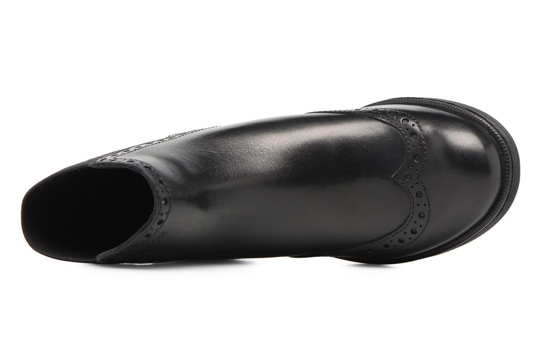 Bottines et boots Geox JR Agata A J6449A Noir vue gauche