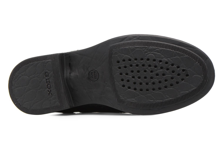 Bottines et boots Geox JR Agata A J6449A Noir vue haut
