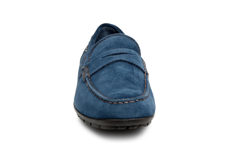 Loafers Geox U Moner W 2FIT C U44T1C Blue model view