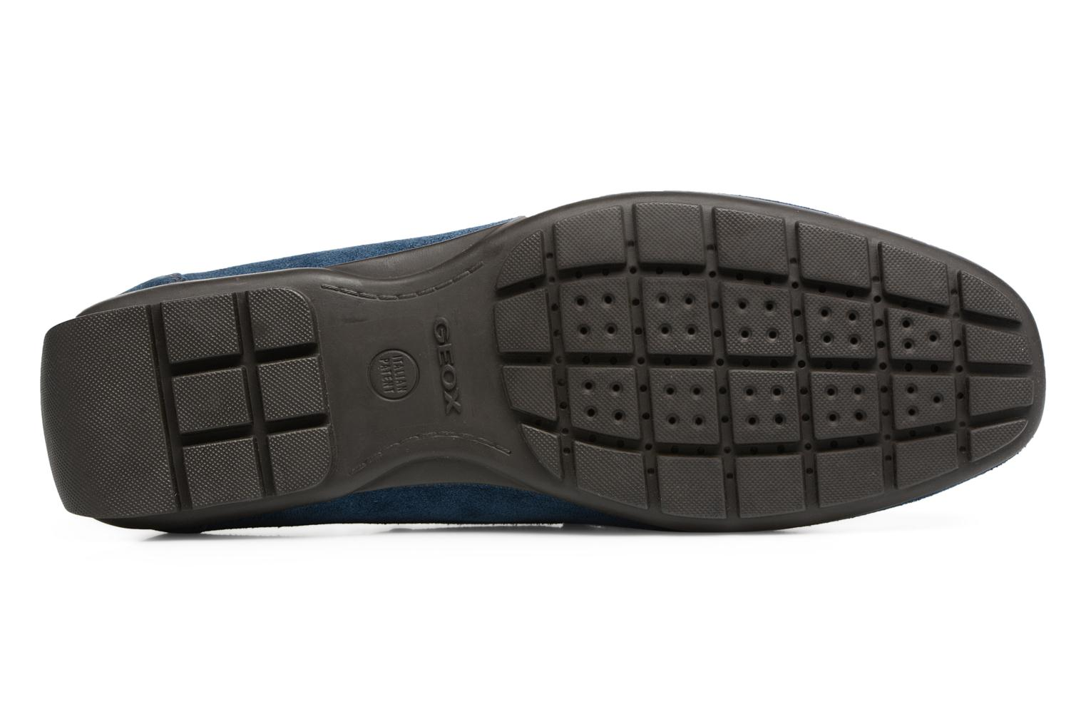 Loafers Geox U Moner W 2FIT C U44T1C Blue view from above