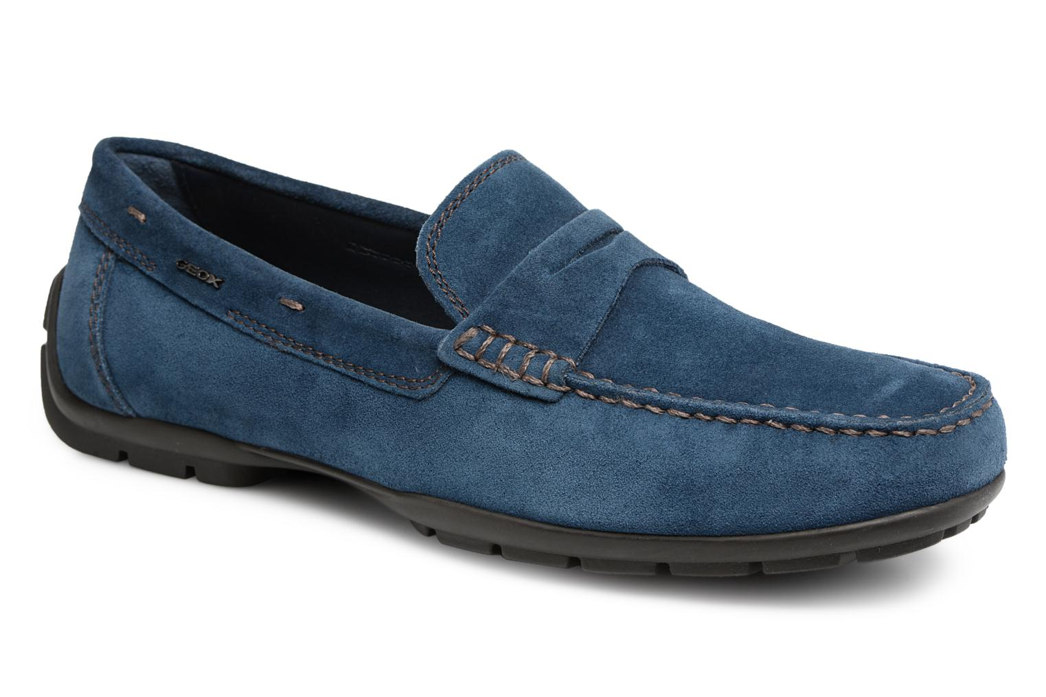 Loafers Geox U Moner W 2FIT C U44T1C Blue detailed view/ Pair view
