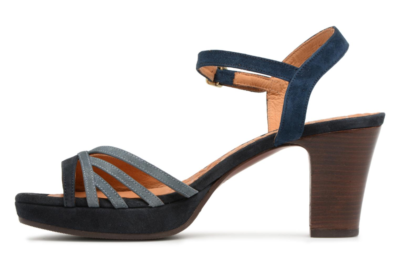Sandals Chie Mihara Basi Blue front view
