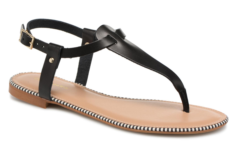 COSMOPARIS LAYURE (Noir) - Sandales et nu-pieds chez Sarenza (318243)