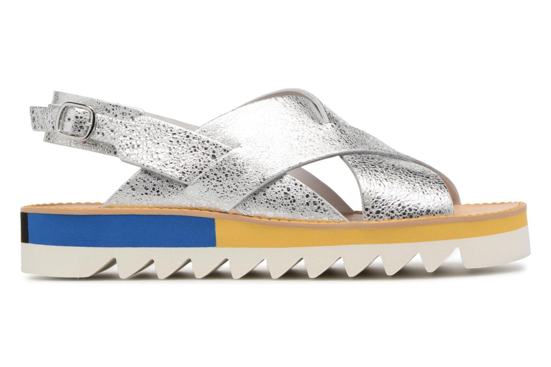 Sandales et nu-pieds COSMOPARIS VAFILI/MET Argent vue derrière