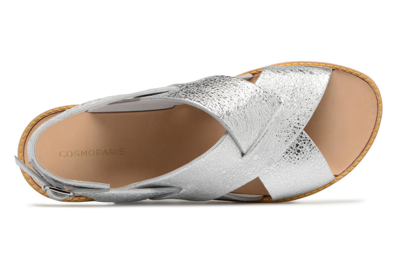 Sandales et nu-pieds COSMOPARIS VAFILI/MET Argent vue gauche