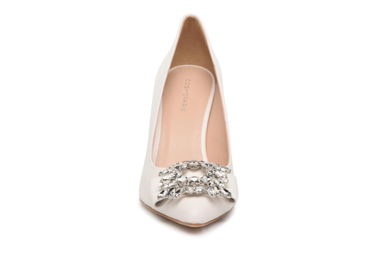 Escarpins COSMOPARIS MANIFIKA/MAR Blanc vue portées chaussures