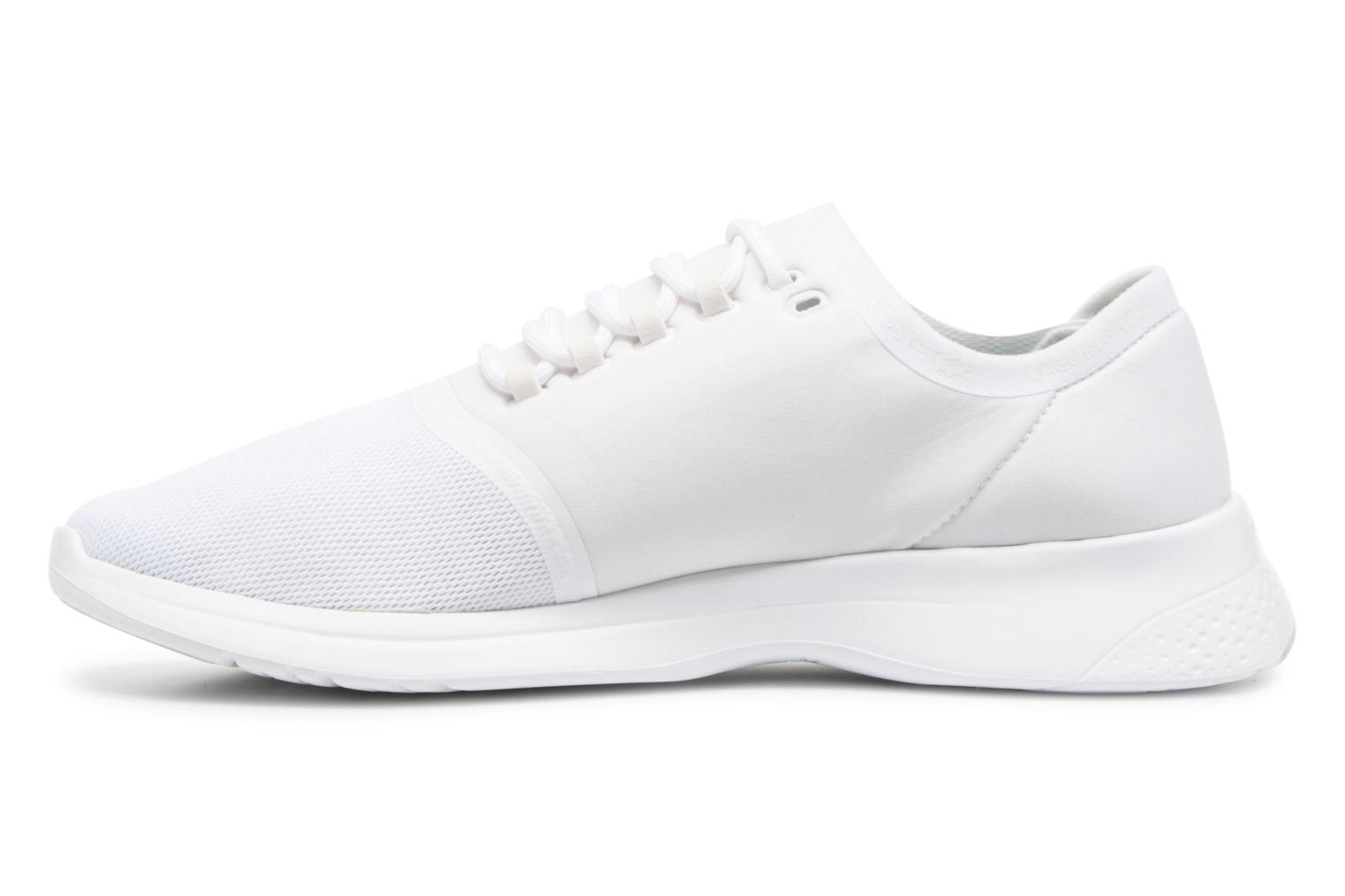 Baskets Lacoste LT FIT 118 4 Blanc vue face