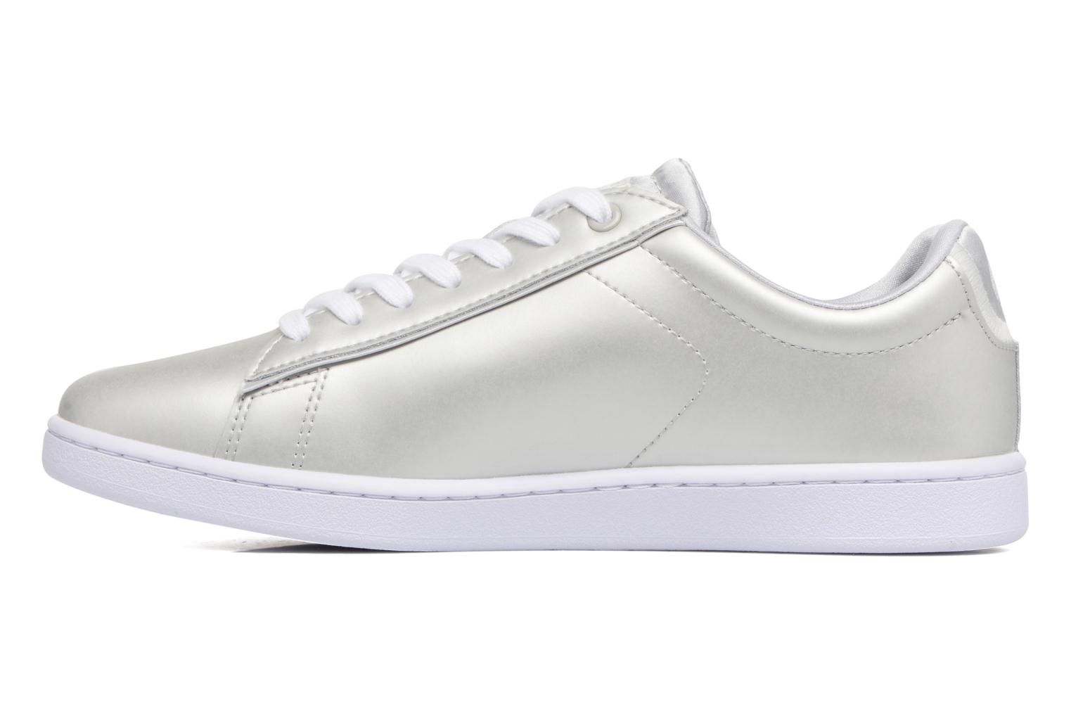 Baskets Lacoste CARNABY EVO 118 1 Gris vue face