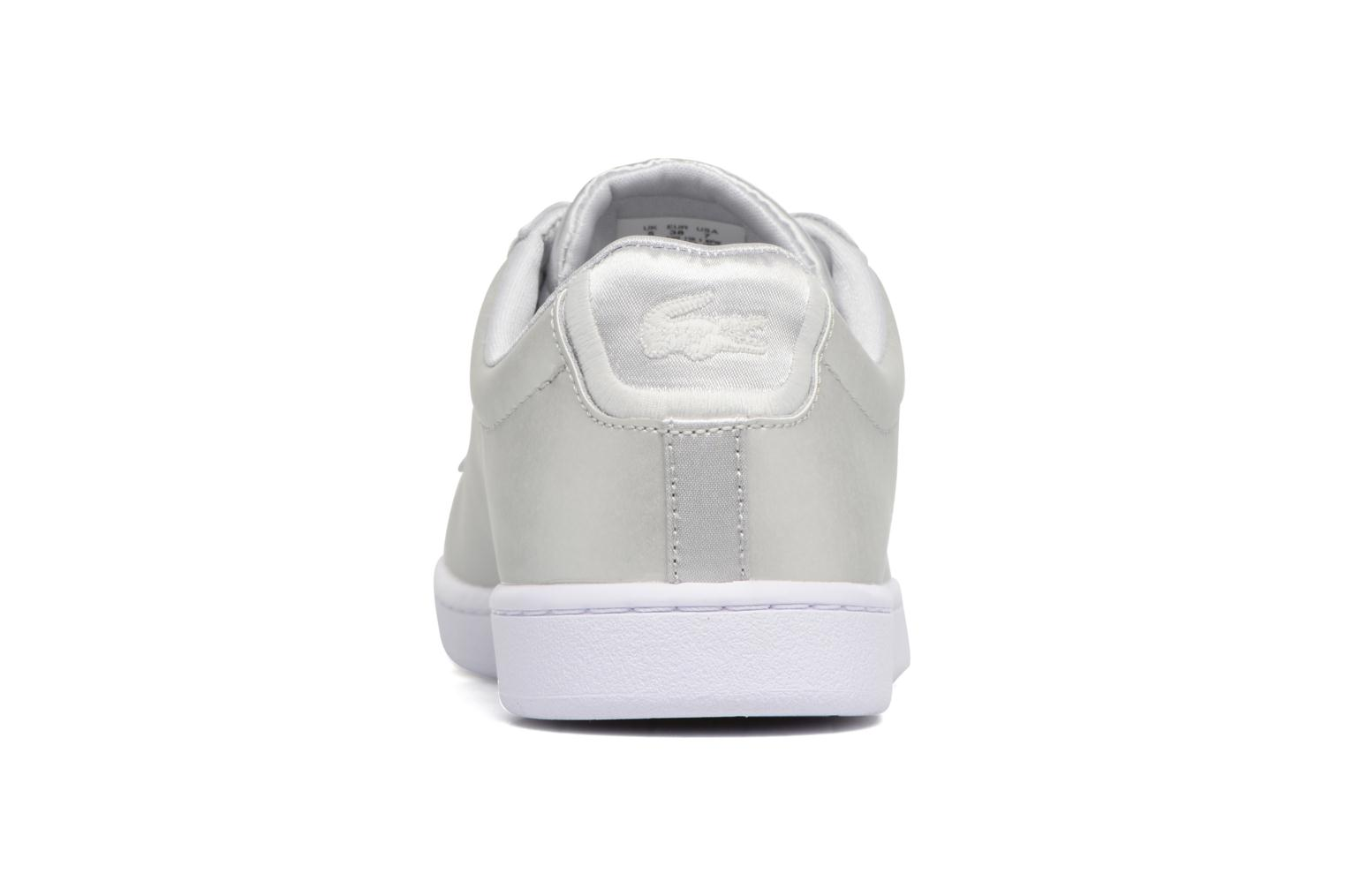 Baskets Lacoste CARNABY EVO 118 1 Gris vue droite