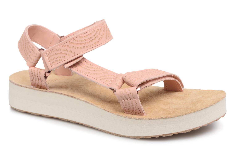 3f8ce87384 Zapatos promocionales Teva Midform Universal Geometric W (Rosa) - Sandalias  Cómodo y bien parecido
