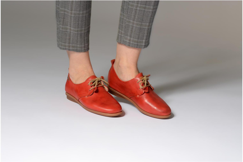 Chaussures à lacets Pikolinos CALABRIA W9K / 4623 carmin Rouge vue bas / vue portée sac