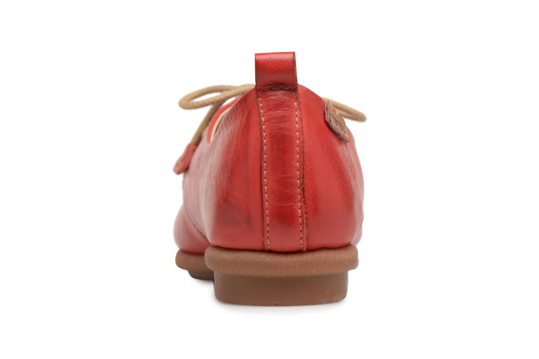 Chaussures à lacets Pikolinos CALABRIA W9K / 4623 carmin Rouge vue droite