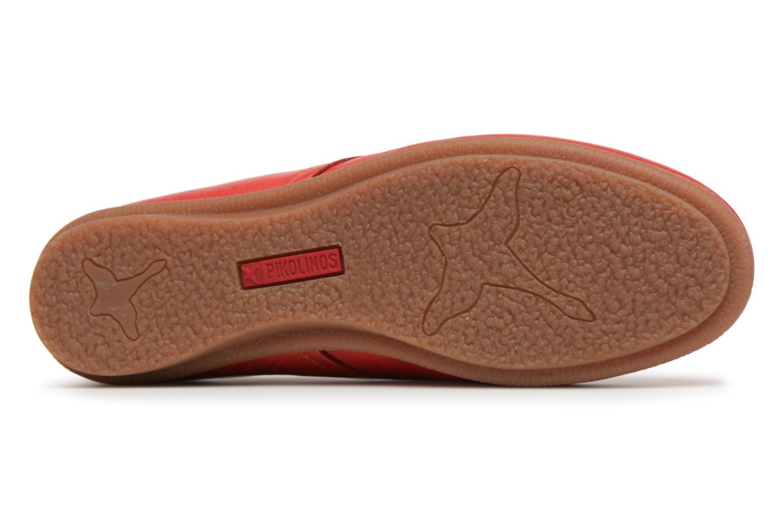 Chaussures à lacets Pikolinos CALABRIA W9K / 4623 carmin Rouge vue haut