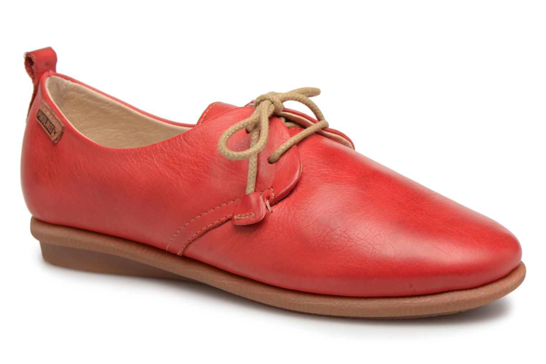 Chaussures à lacets Pikolinos CALABRIA W9K / 4623 carmin Rouge vue détail/paire