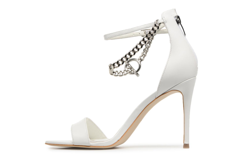 Zapatos de hombres y mujeres de moda casual Guess KONCETA (Blanco) - Sandalias en Más cómodo