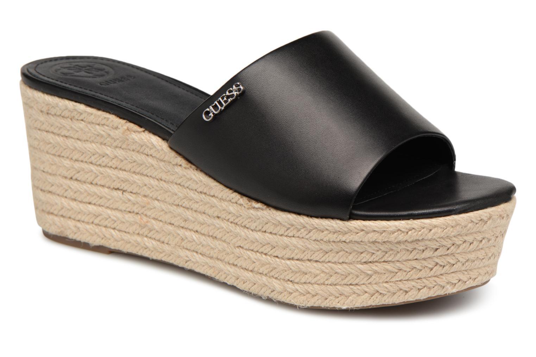 Zapatos promocionales Guess LENORE (Negro) - Zuecos   Casual salvaje