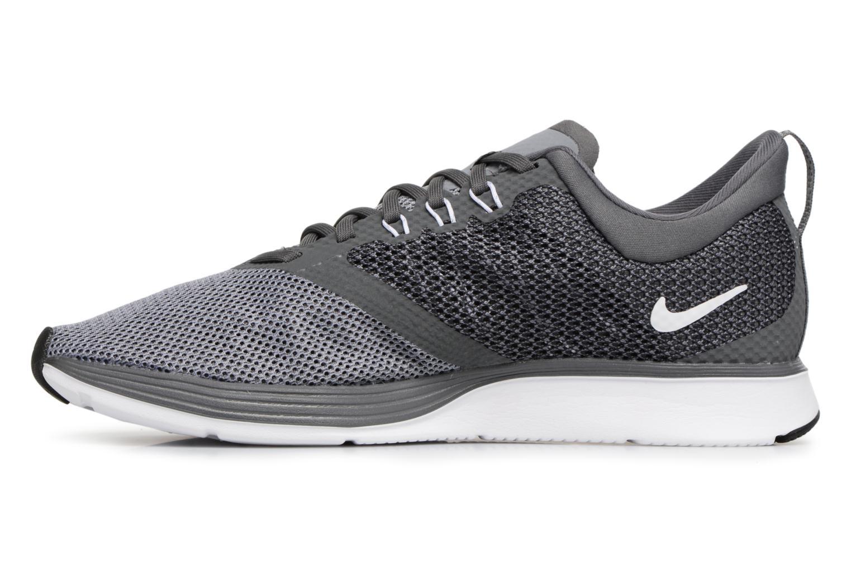 Sportschuhe Nike Nike Zoom Strike grau ansicht von vorne