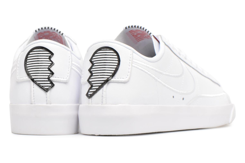 White/White-Black-Speed Red Nike W Blazer Low Se Lx (Blanc)
