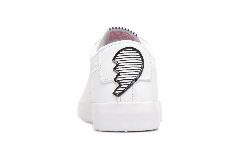 Baskets Nike W Blazer Low Se Lx Blanc vue droite