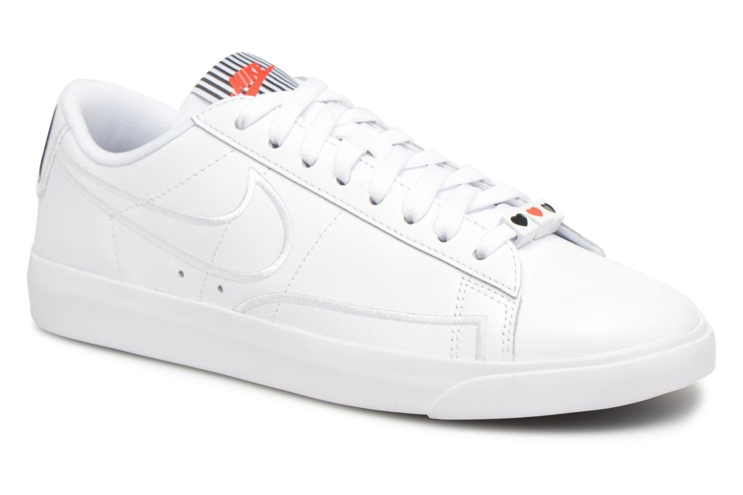 W Blazer Low Se Lx White/White-Black-Speed Red
