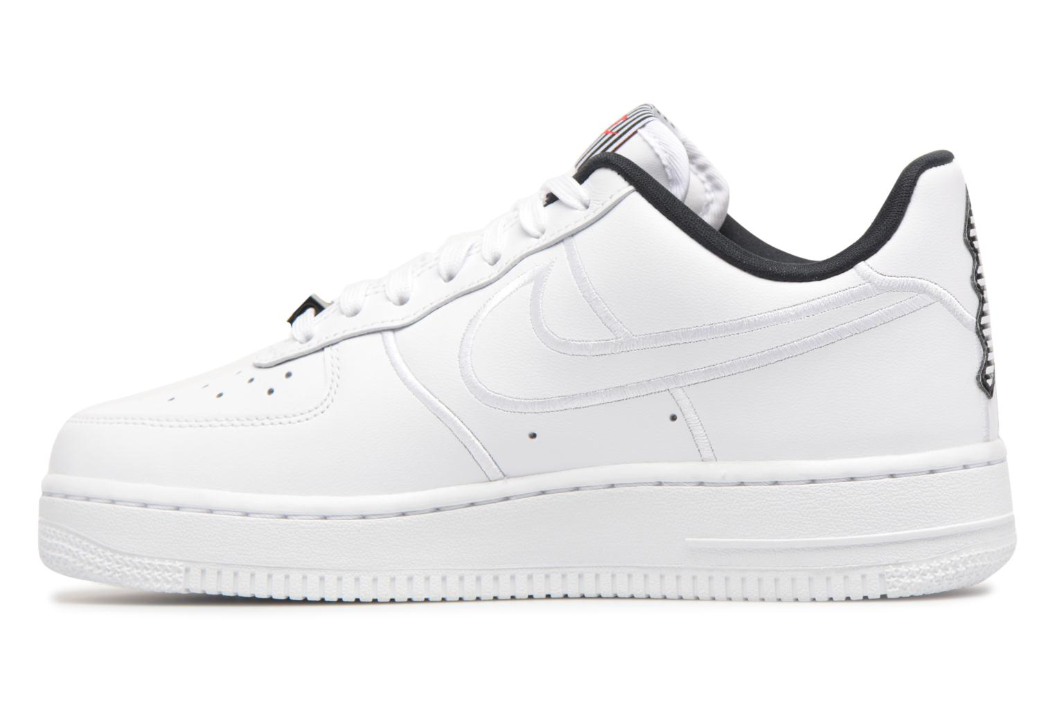 White/white-Black Nike W Air Force 1 07 Se Lx (Blanc)