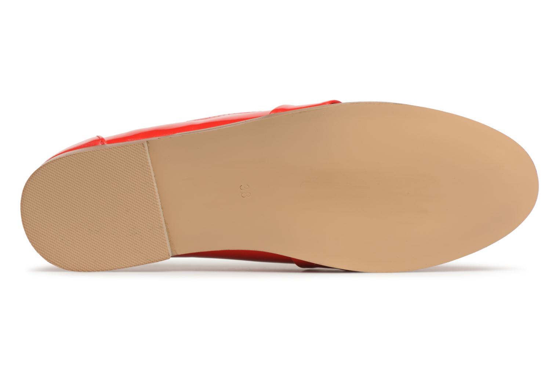 Mocassins I Love Shoes Bepola Rouge vue haut