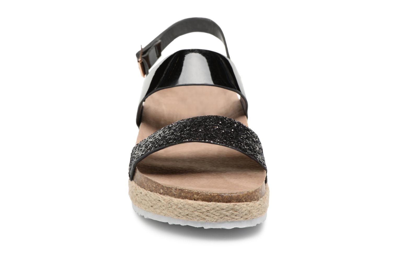Sandales et nu-pieds I Love Shoes Benino Noir vue portées chaussures