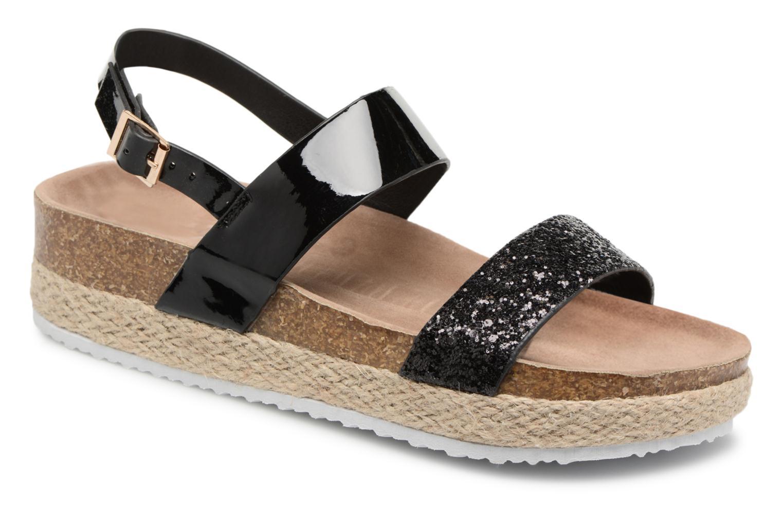 Sandales et nu-pieds I Love Shoes Benino Noir vue détail/paire
