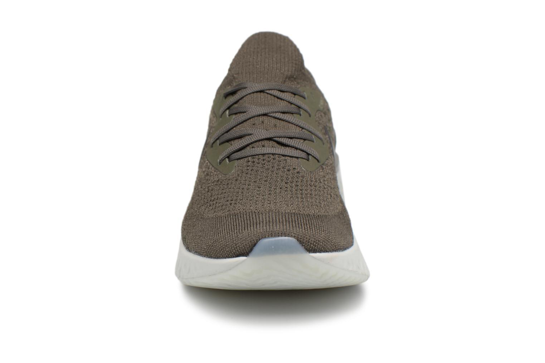Sportschoenen Nike Nike Epic React Flyknit Groen model