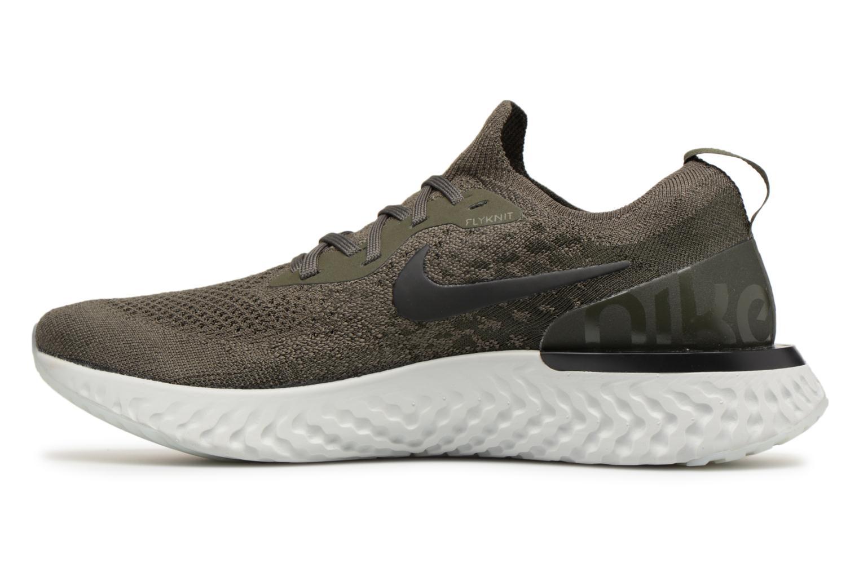 Sportschoenen Nike Nike Epic React Flyknit Groen voorkant