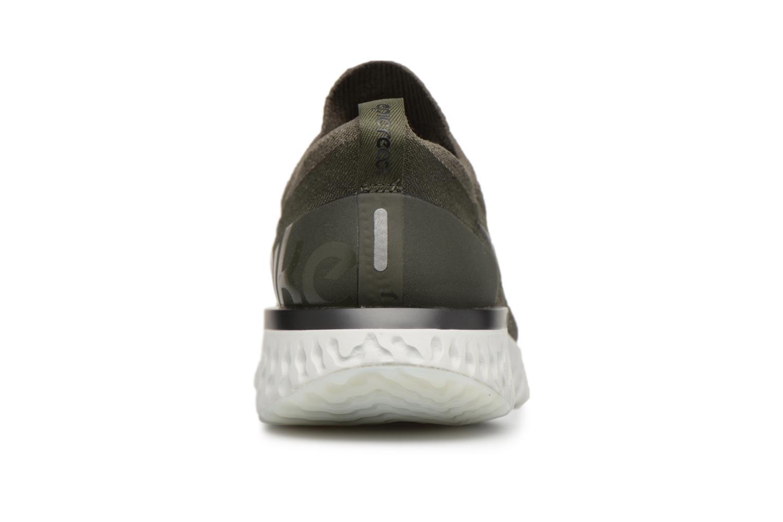 Sportschoenen Nike Nike Epic React Flyknit Groen rechts