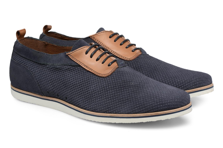Chaussures à lacets Mr SARENZA Surtop Bleu vue derrière