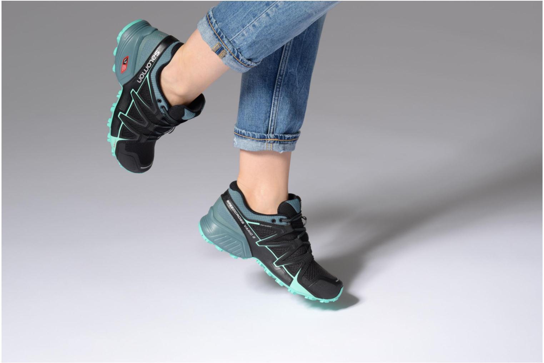 Chaussures de sport Salomon Speedcross Vario 2 W Noir vue bas / vue portée sac