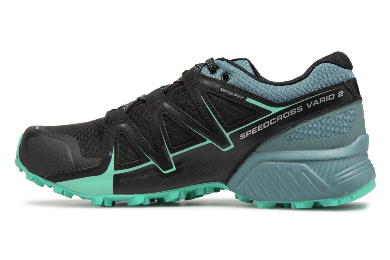 Chaussures de sport Salomon Speedcross Vario 2 W Noir vue face