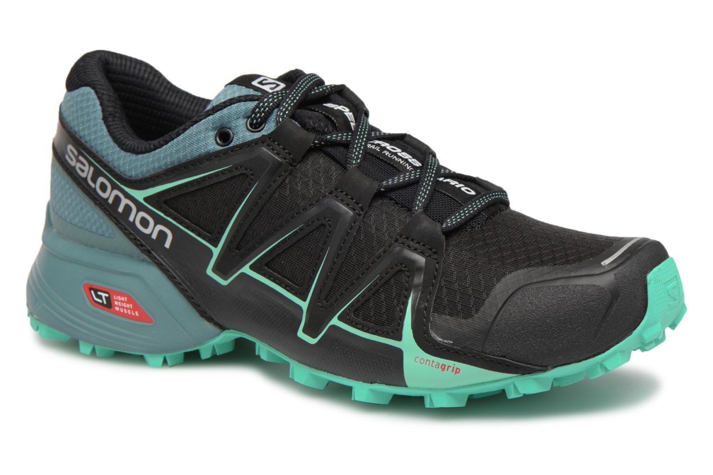 Chaussures de sport Salomon Speedcross Vario 2 W Noir vue détail/paire