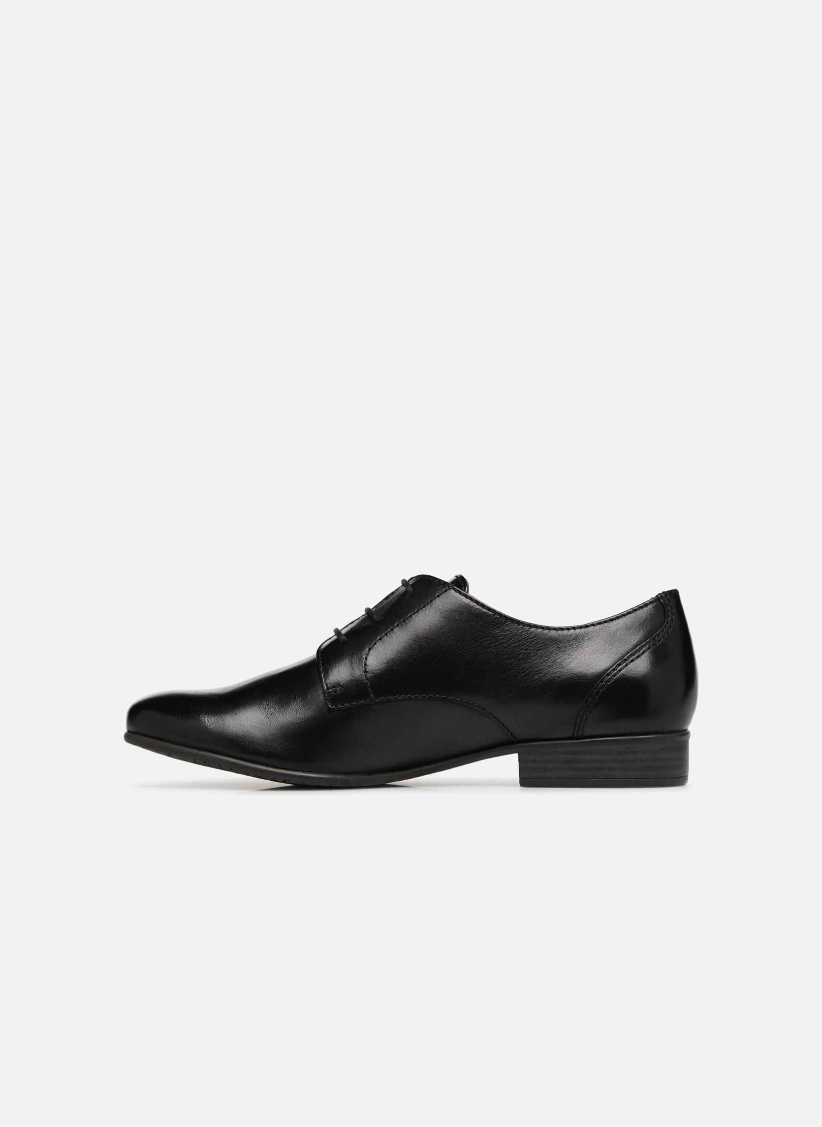 Chaussures à lacets Tamaris Coriandre Noir vue face