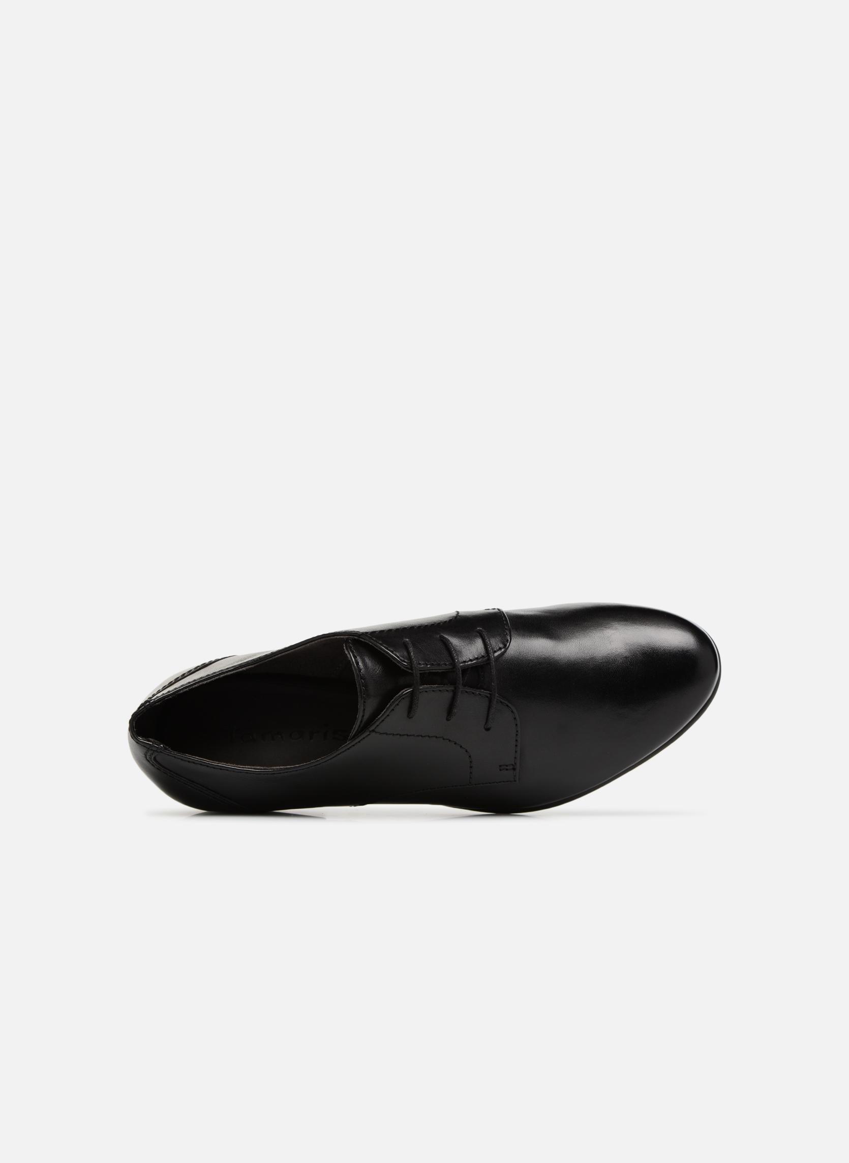 Chaussures à lacets Tamaris Coriandre Noir vue gauche