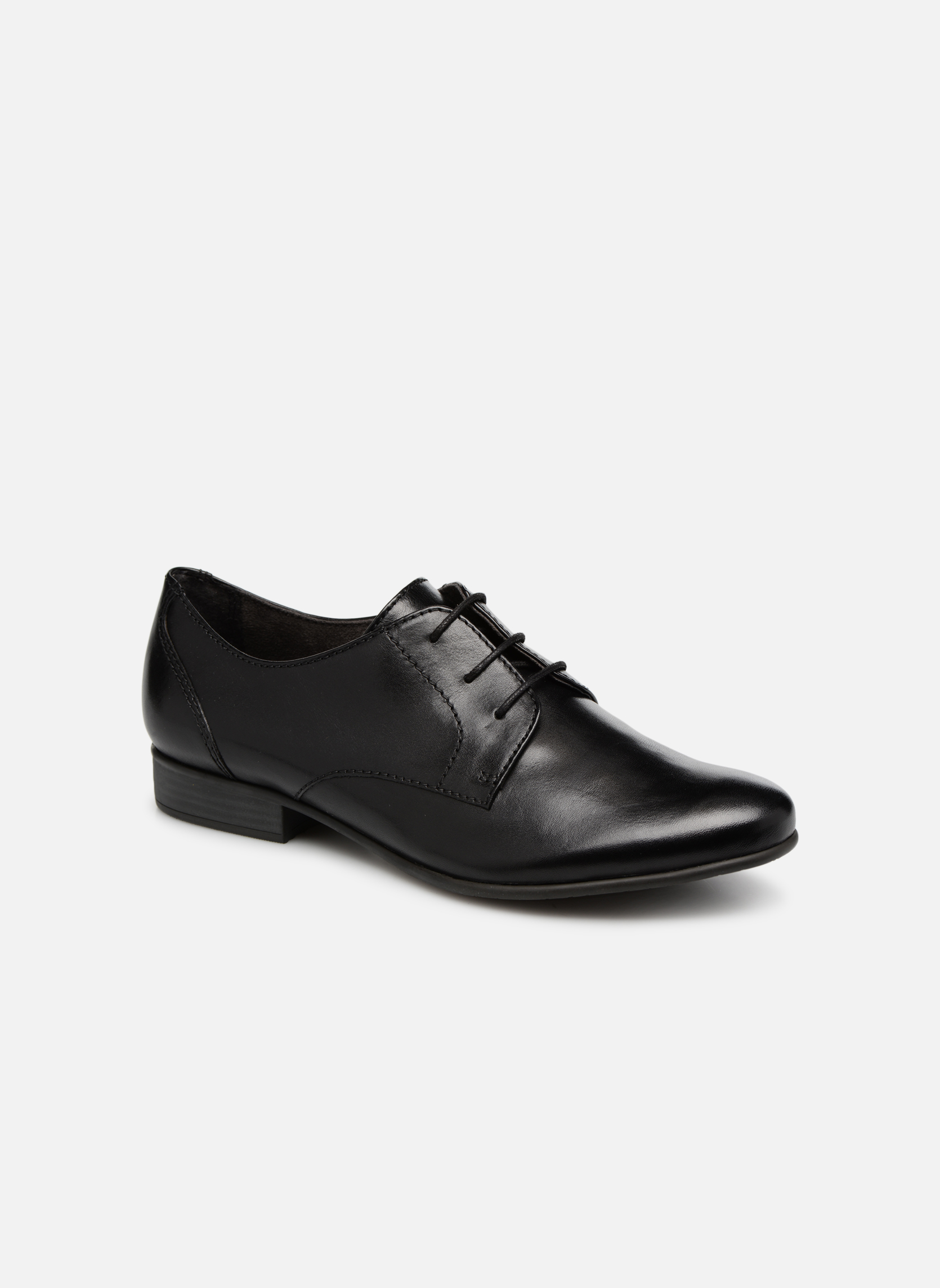 Coriandre Black leather
