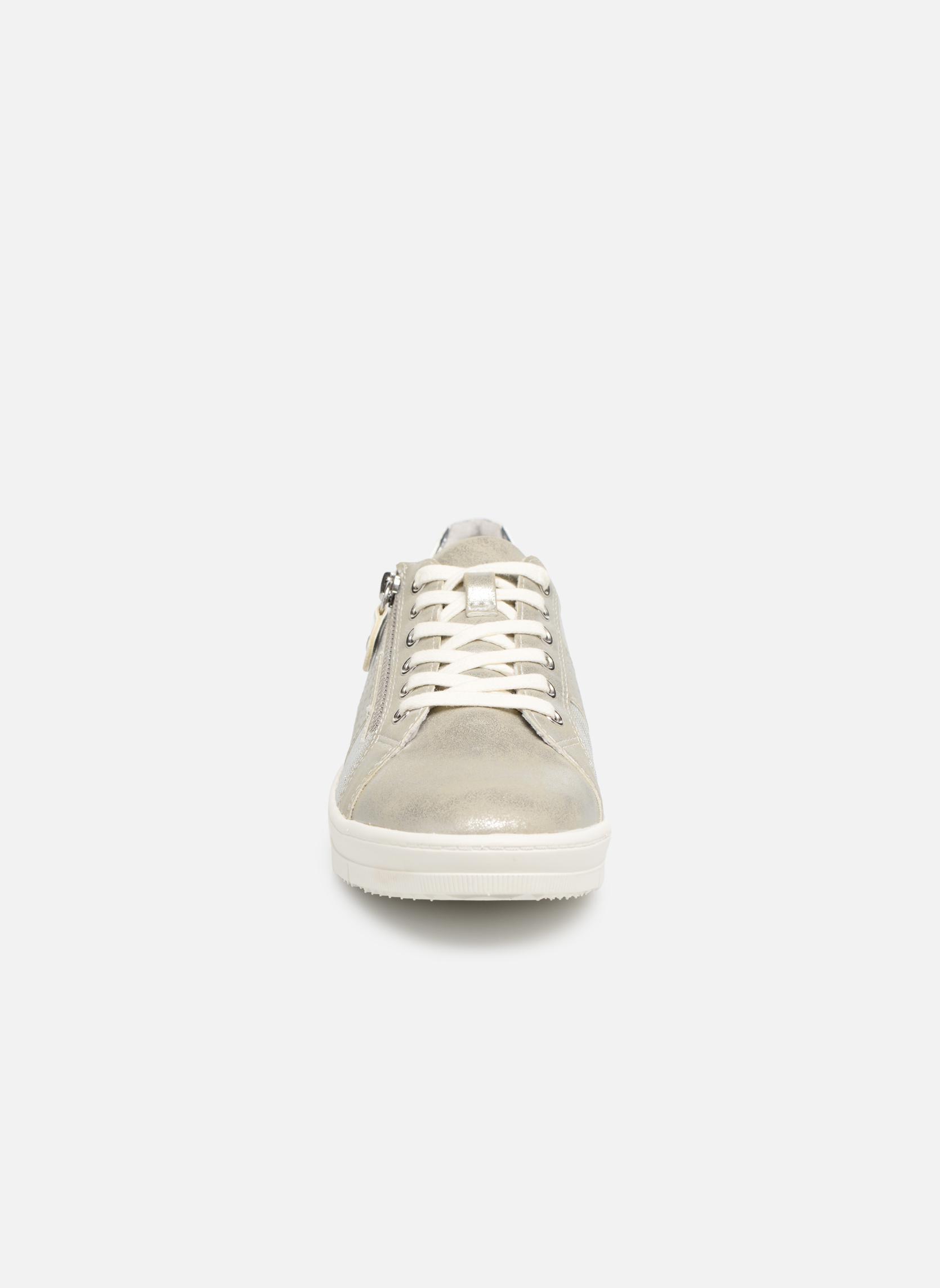 Baskets Tamaris Genièvre Argent vue portées chaussures