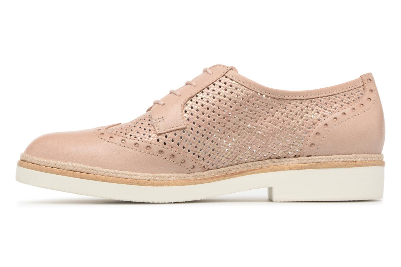 Chaussures à lacets Tamaris Girofle Beige vue face