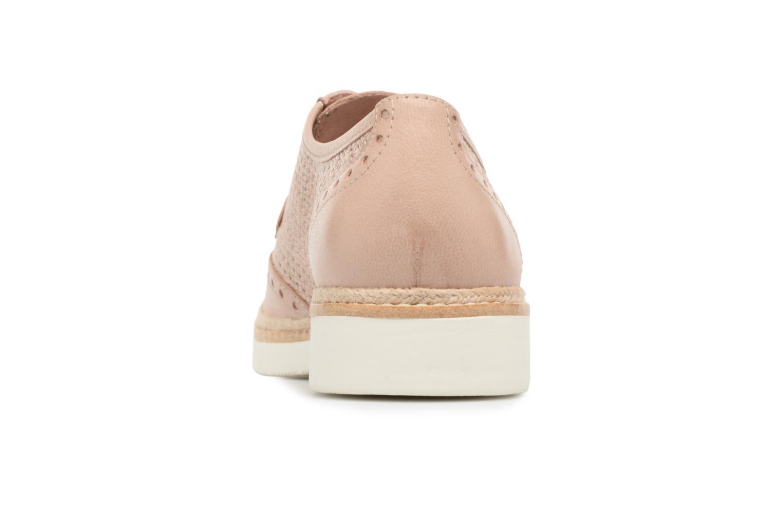 Chaussures à lacets Tamaris Girofle Beige vue droite