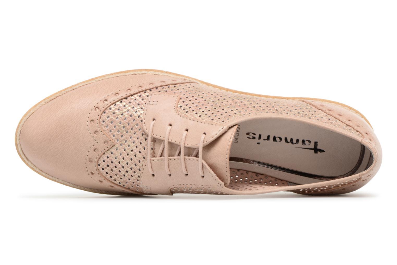 Chaussures à lacets Tamaris Girofle Beige vue gauche