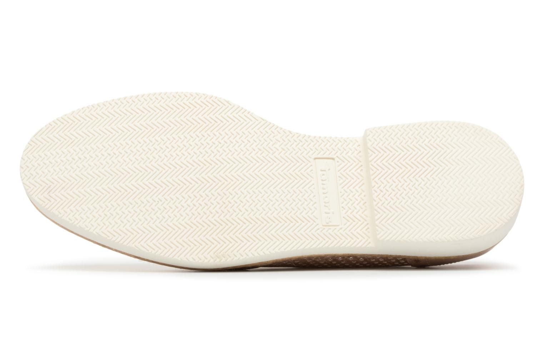 Chaussures à lacets Tamaris Girofle Beige vue haut