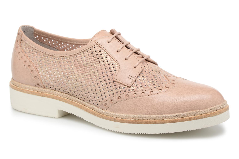Chaussures à lacets Tamaris Girofle Beige vue détail/paire