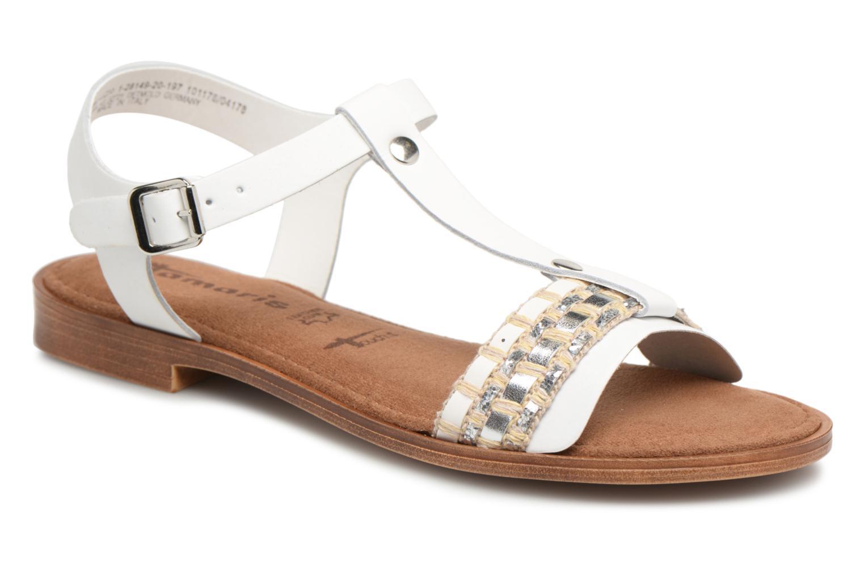 Los últimos zapatos de descuento para hombres y mujeres Tamaris Ciboulette (Blanco) - Sandalias en Más cómodo