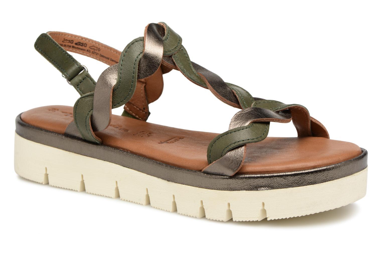 Tamaris Agave 2 (Vert) - Sandales et nu-pieds chez Sarenza (319259)