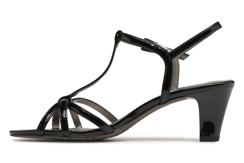 Sandales et nu-pieds Tamaris Sarriette Noir vue face