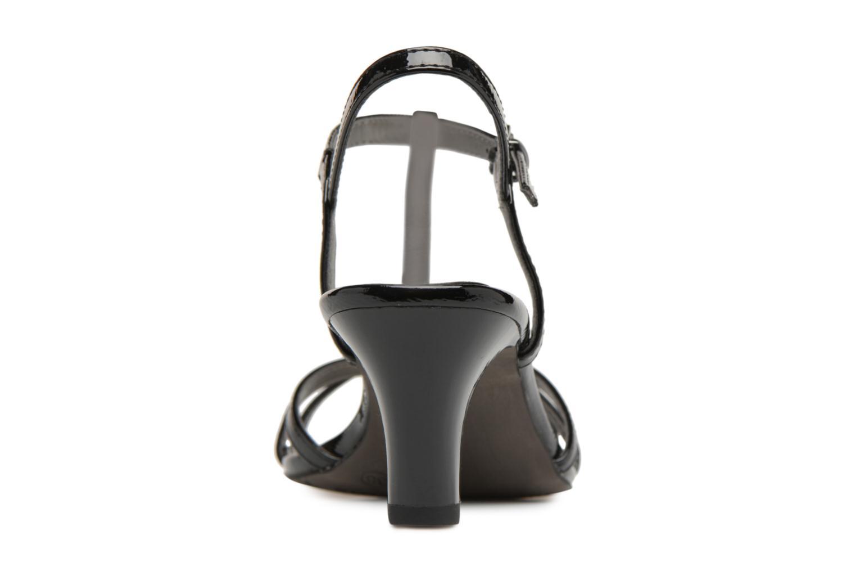 Sandales et nu-pieds Tamaris Sarriette Noir vue droite