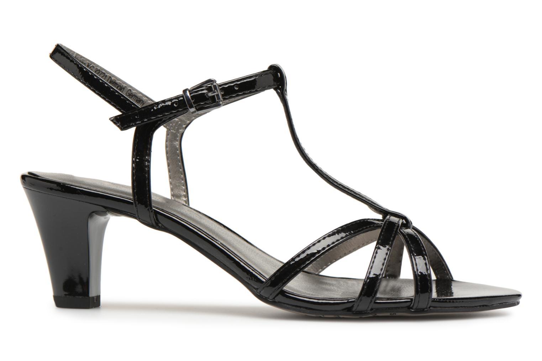 Sandales et nu-pieds Tamaris Sarriette Noir vue derrière