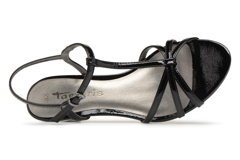 Sandales et nu-pieds Tamaris Sarriette Noir vue gauche